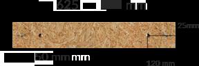 Wymiary produktu: płyta osb - 1