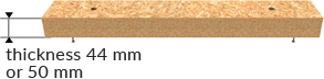 Dimensions of the product: osb board - 2