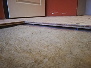 Gallery - mounted OSB boards - photo 2
