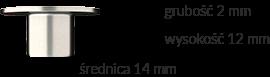 Wymiary produktu: tuleja - 2